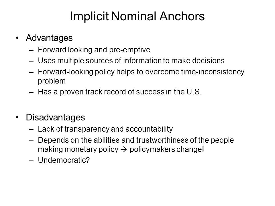 Implicit Nominal Anchors