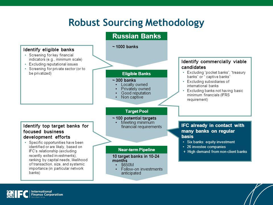 Robust Sourcing Methodology