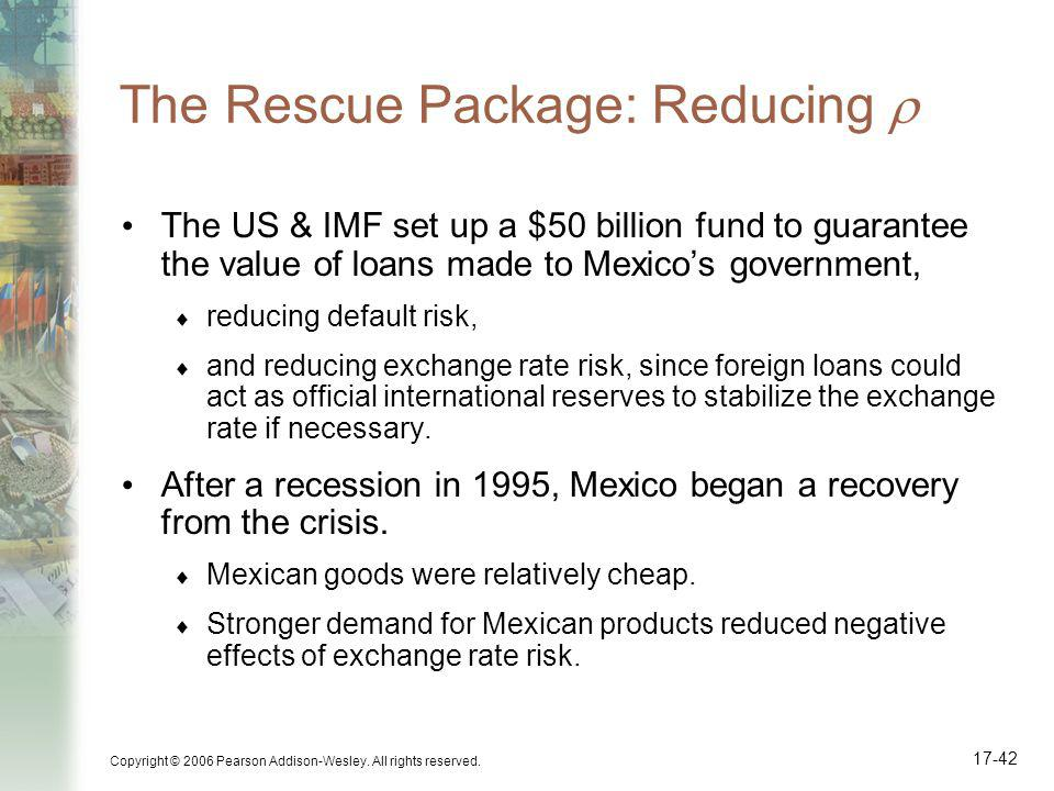 The Rescue Package: Reducing 