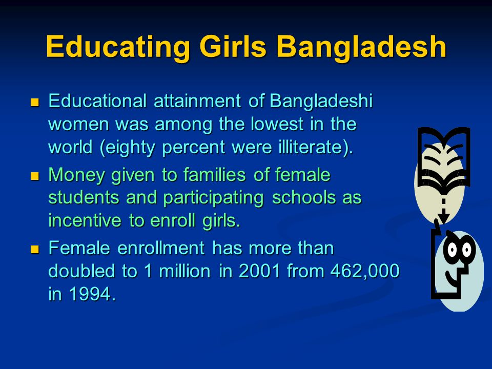 Educating Girls Bangladesh