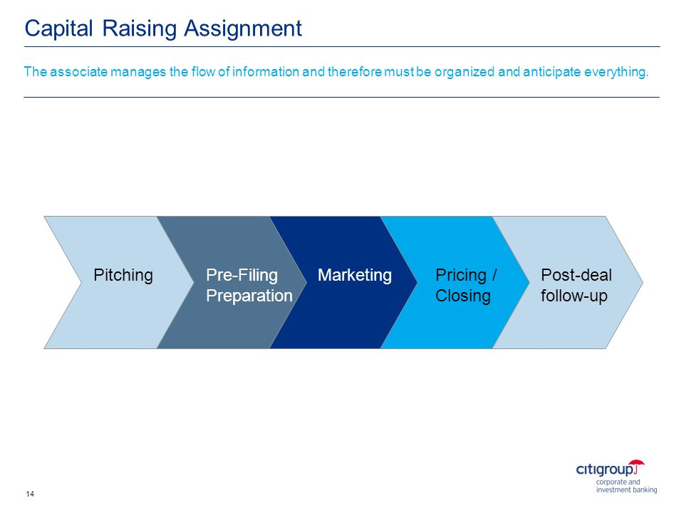 Capital Raising Assignment