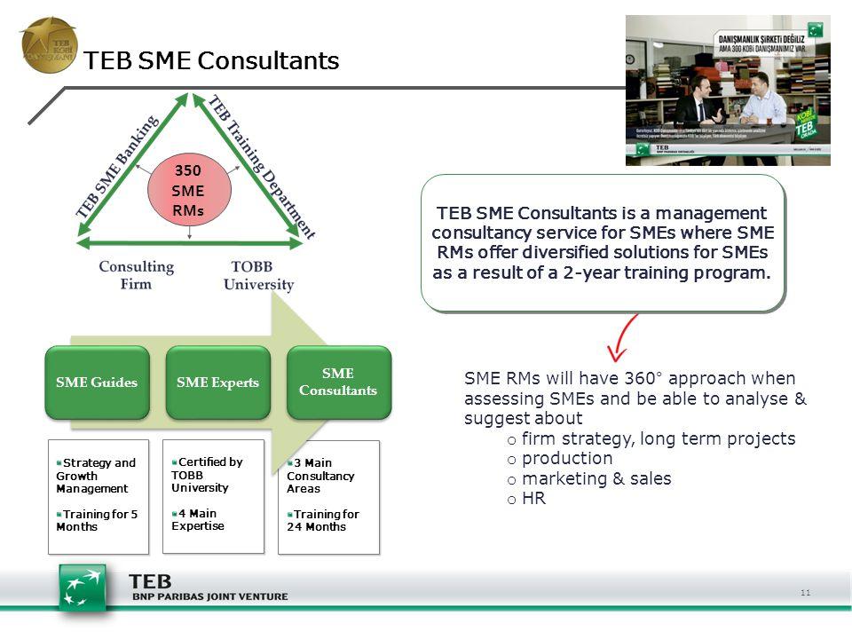 TEB SME Consultants 350 SME RMs