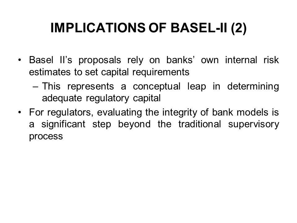IMPLICATIONS OF BASEL-II (2)