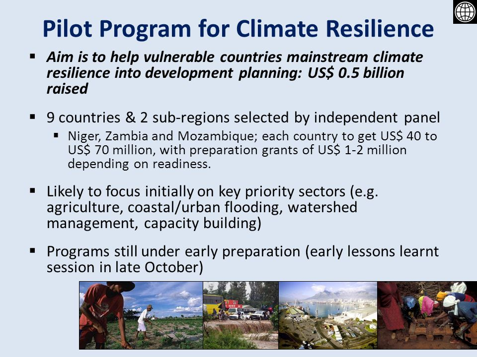 Pilot Program for Climate Resilience