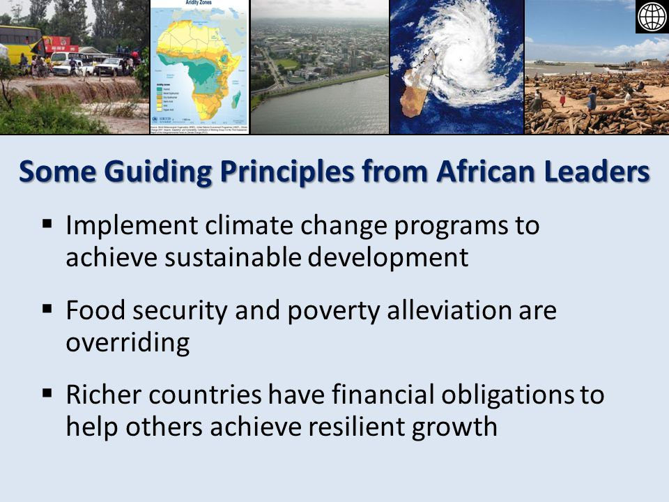 Some Guiding Principles from African Leaders