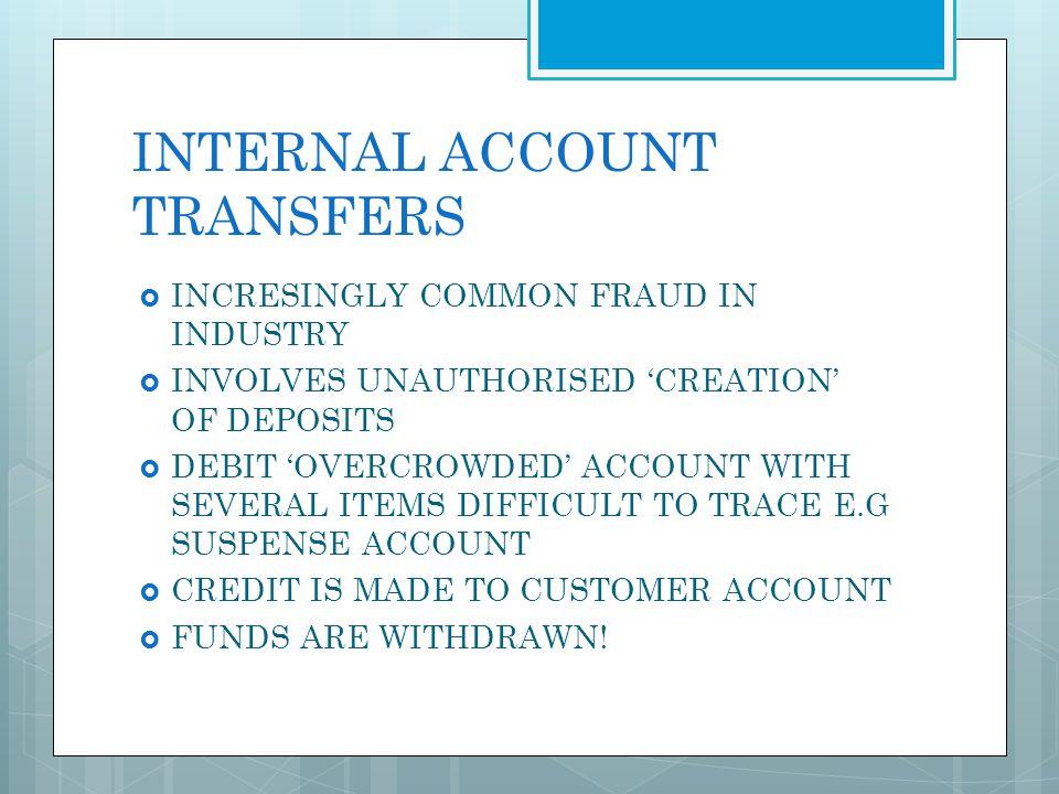 INTERNAL ACCOUNT TRANSFERS