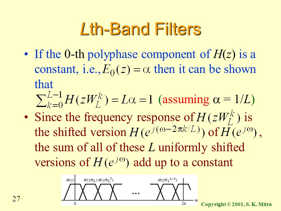Lth-Band Filters