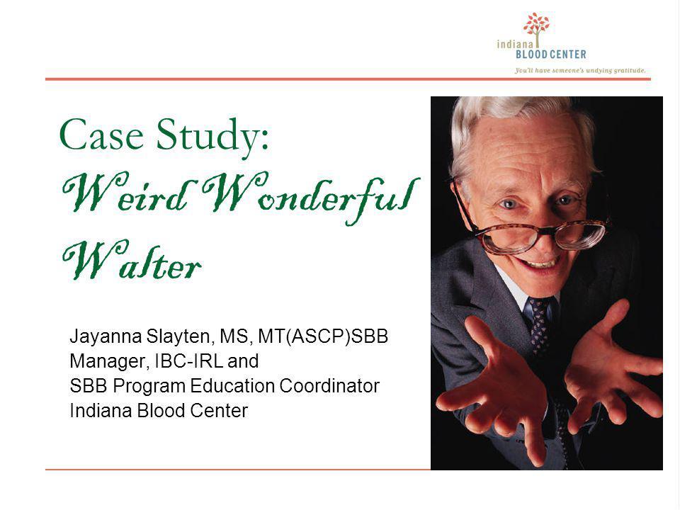 Case Study: Weird Wonderful Walter