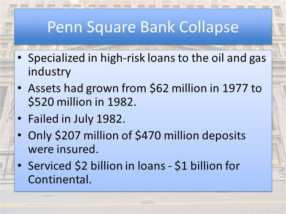 Penn Square Bank Collapse