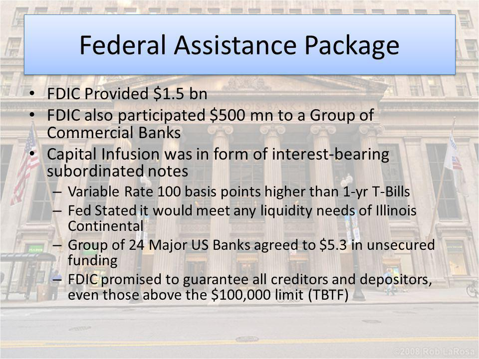Federal Assistance Package