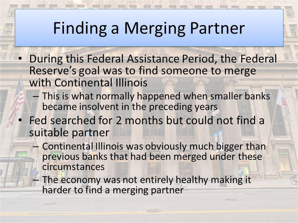 Finding a Merging Partner
