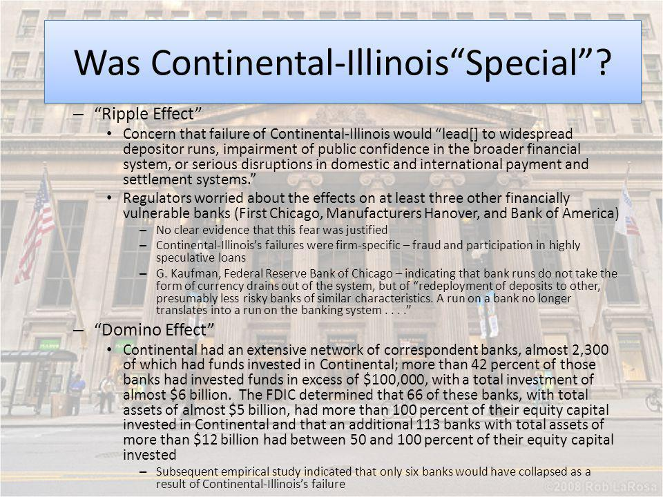 Was Continental-Illinois Special