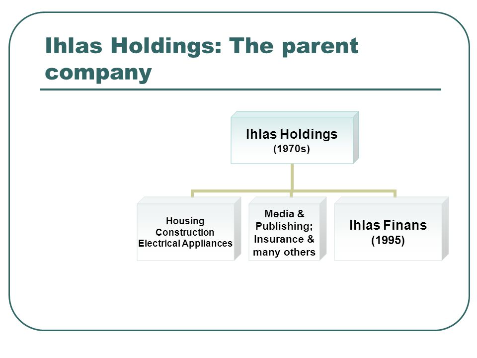 Ihlas Holdings: The parent company