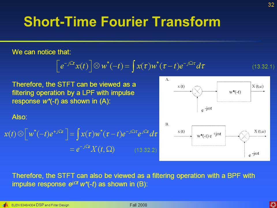 Short-Time Fourier Transform