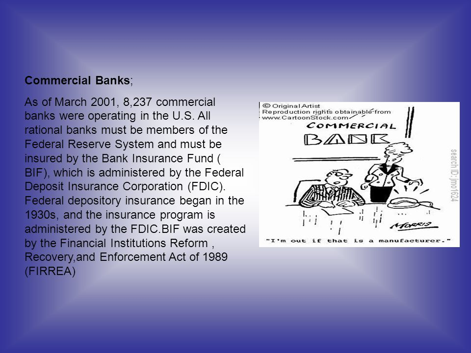 Commercial Banks;