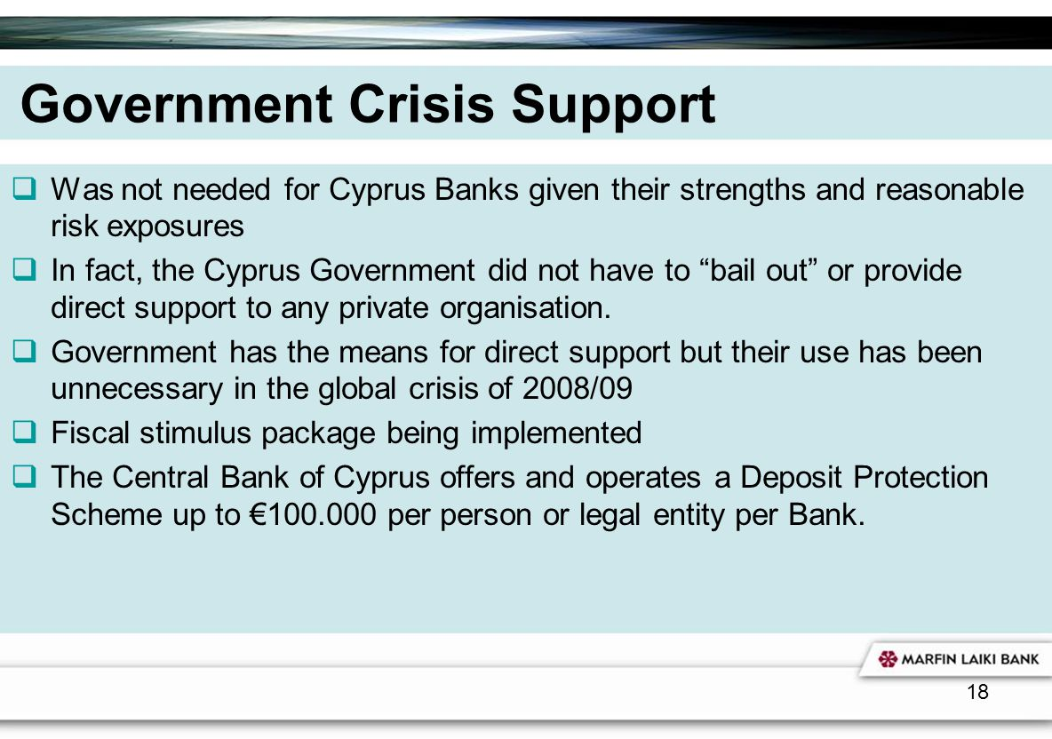 Government Crisis Support