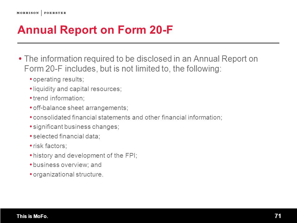 Annual Report on Form 20-F