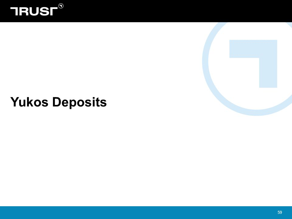 Yukos Deposits