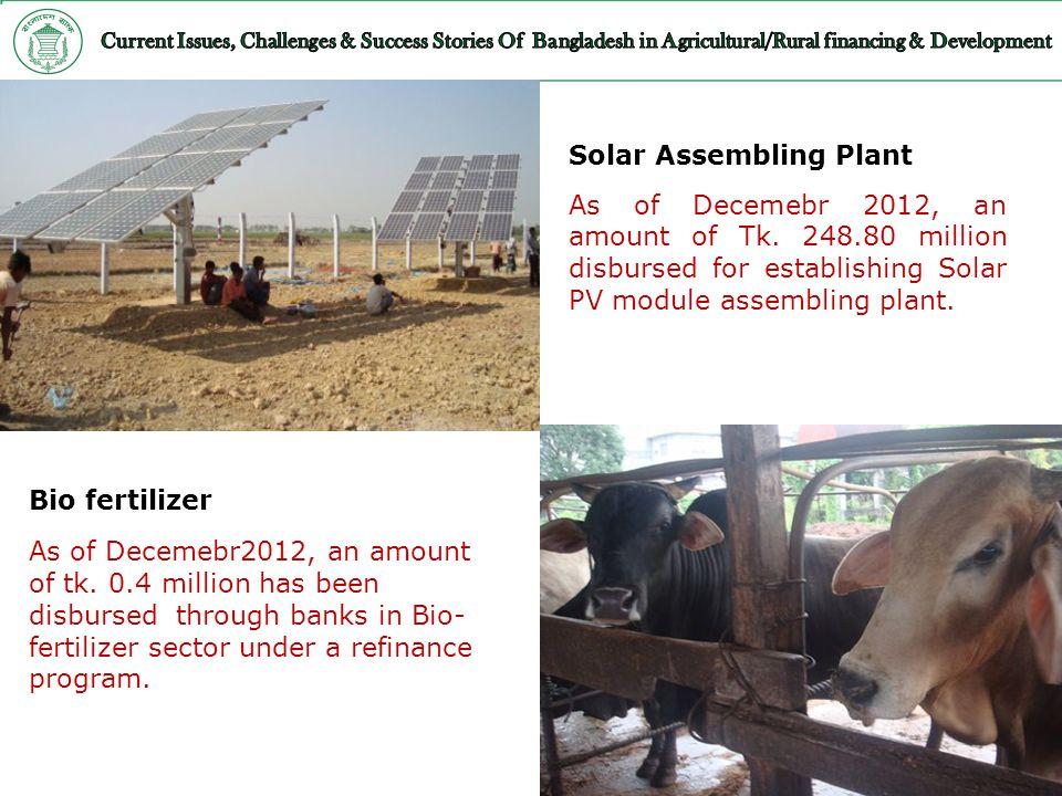 Solar Assembling Plant