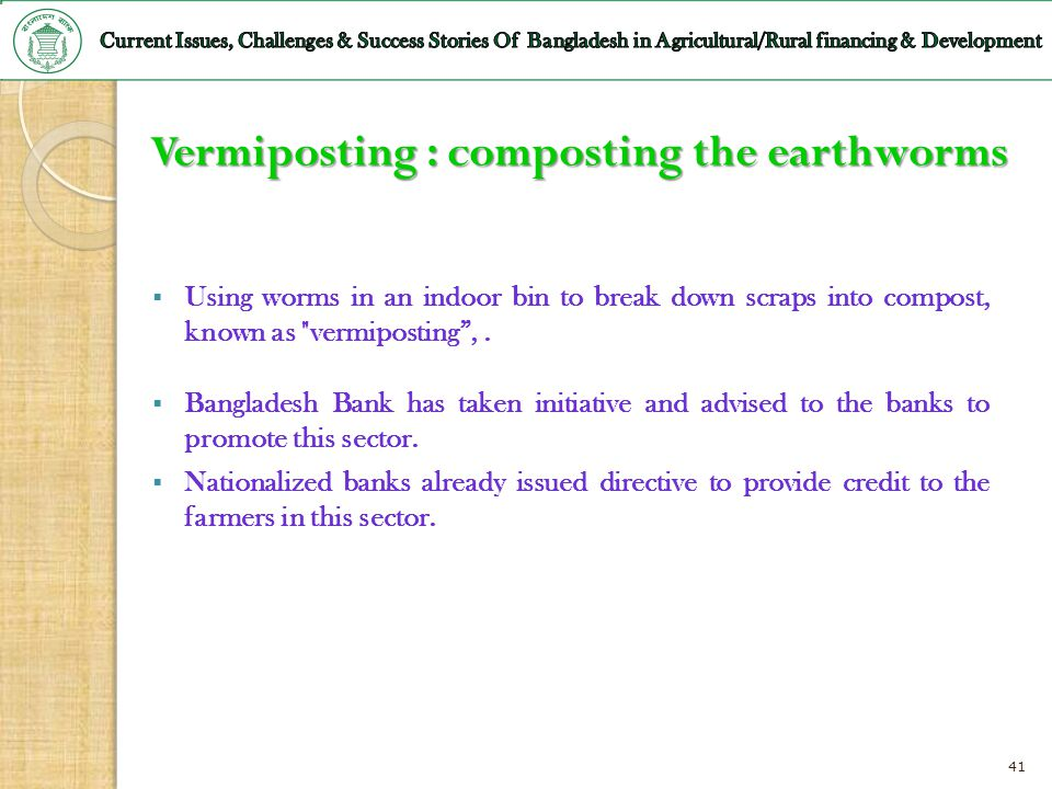 Vermiposting : composting the earthworms