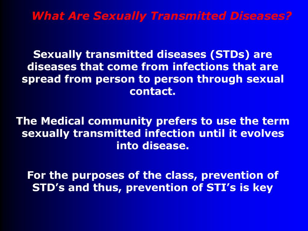 New sexually transmitted disease called blue