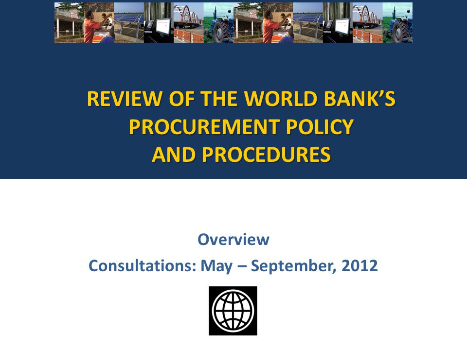Overview Consultations: May – September, 2012