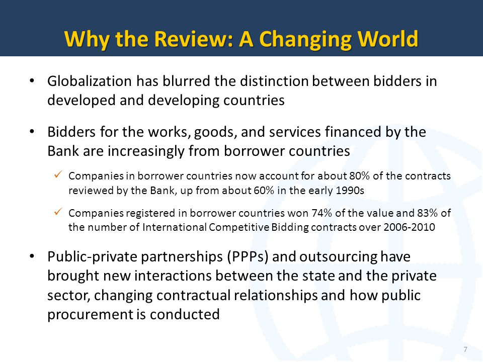 Why the Review: A Changing World