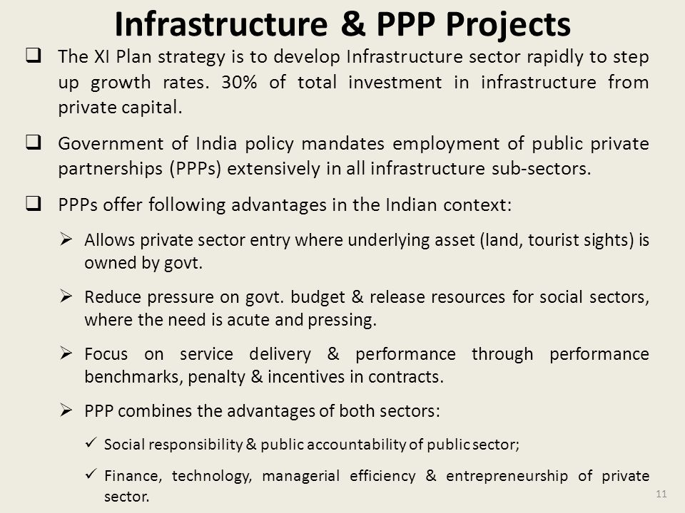 Infrastructure & PPP Projects
