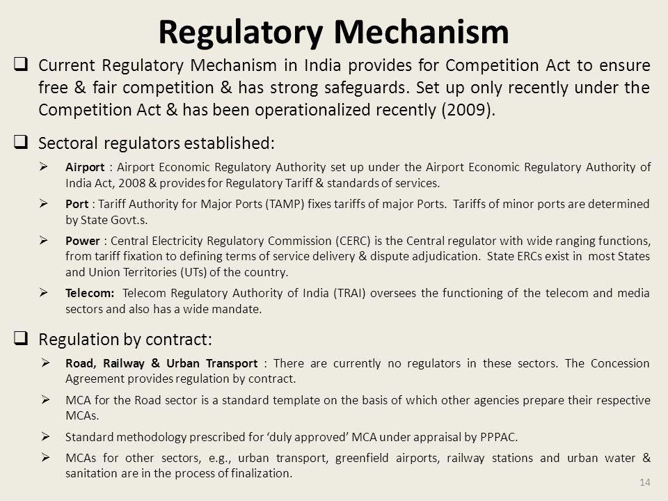 Regulatory Mechanism