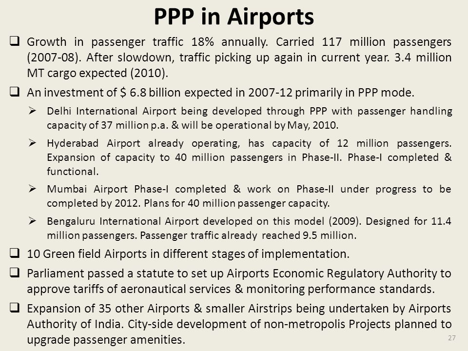 PPP in Airports