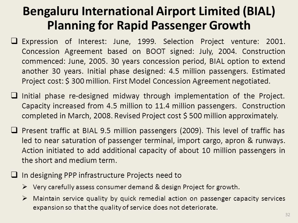 Bengaluru International Airport Limited (BIAL) Planning for Rapid Passenger Growth