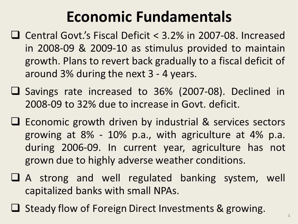 Economic Fundamentals