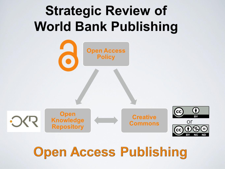 Strategic Review of World Bank Publishing