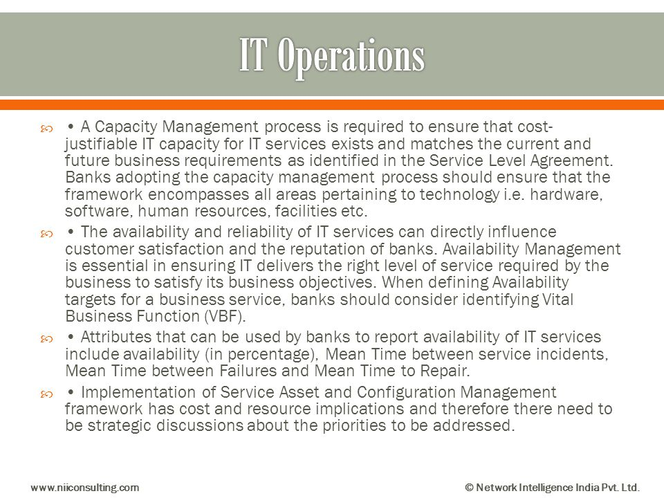 IT Operations