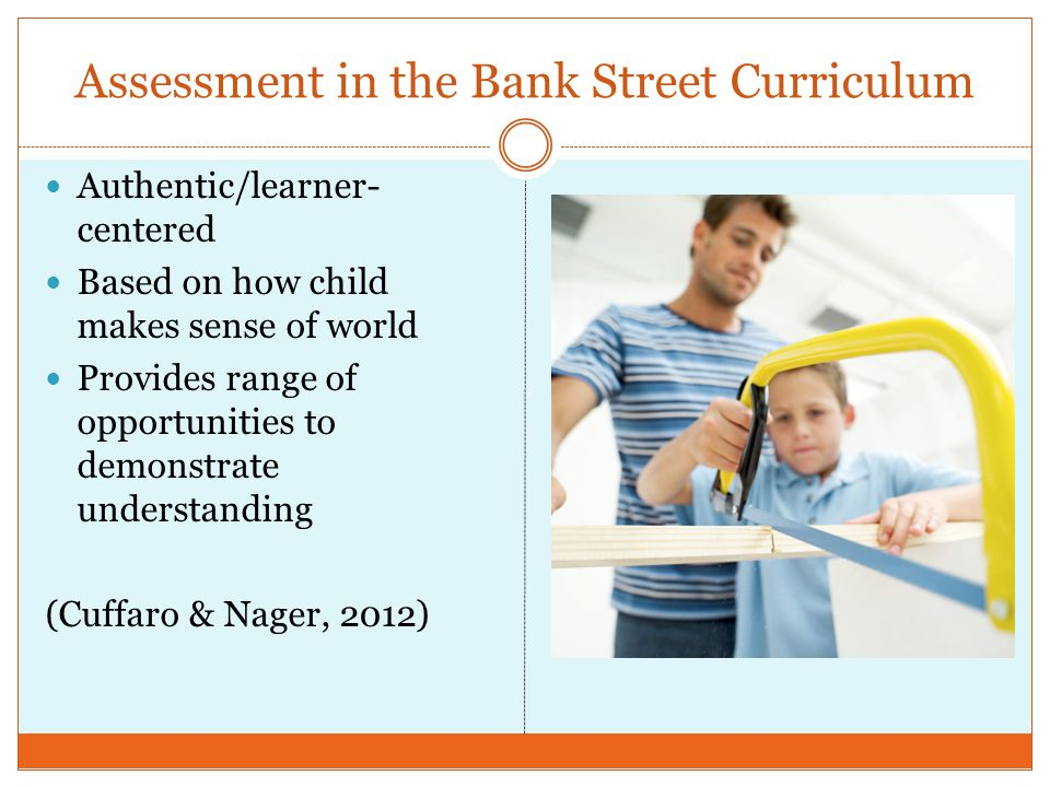 Assessment in the Bank Street Curriculum