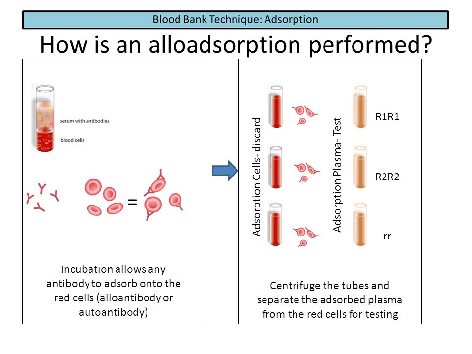 How is an alloadsorption performed