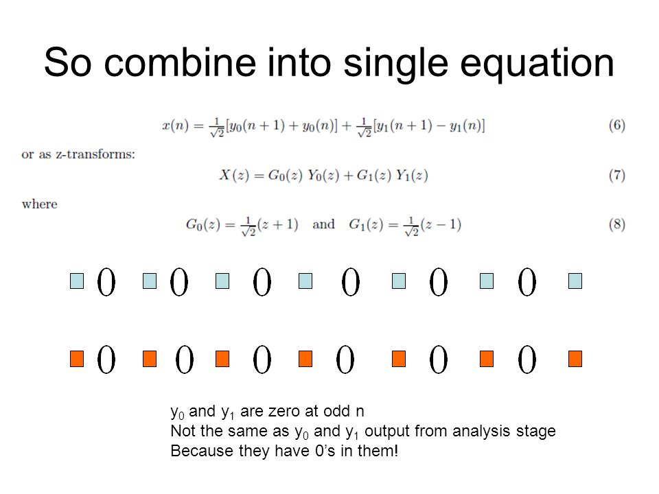 So combine into single equation