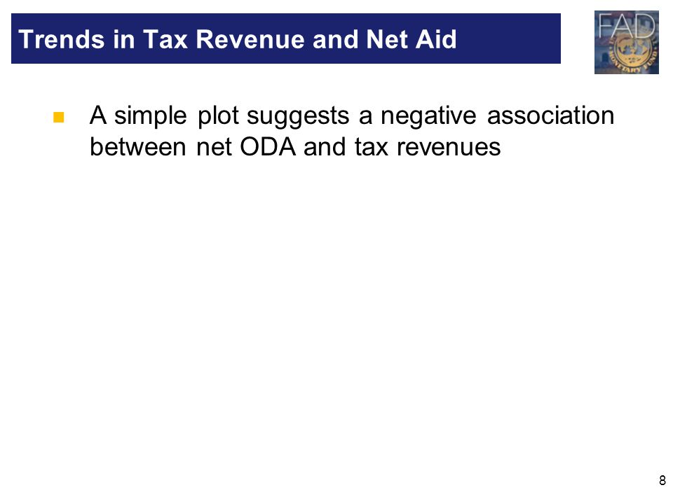 Trends in Tax Revenue and Net Aid