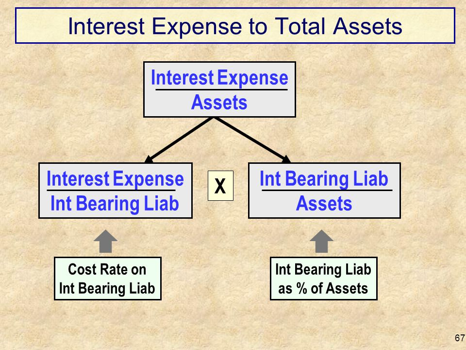 Interest Expense to Total Assets