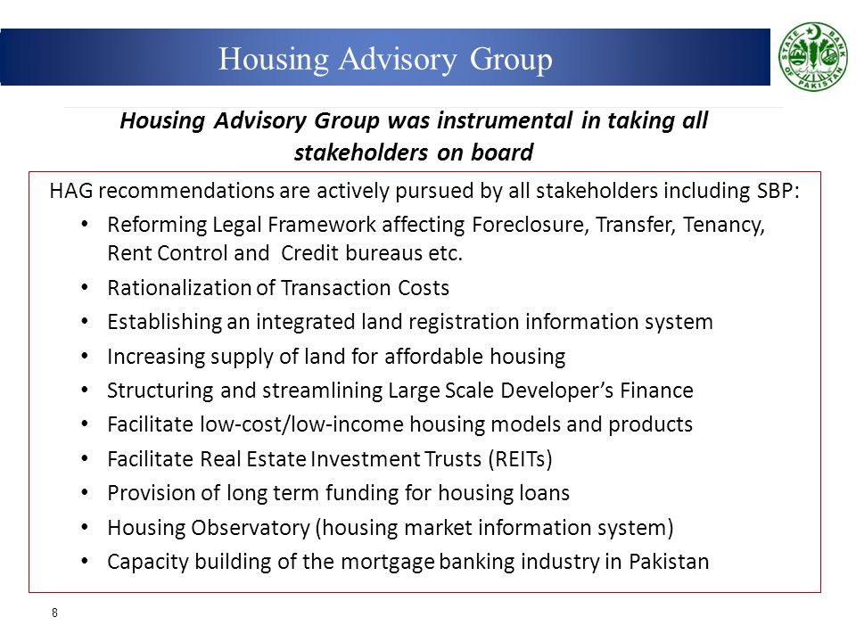 Housing Advisory Group