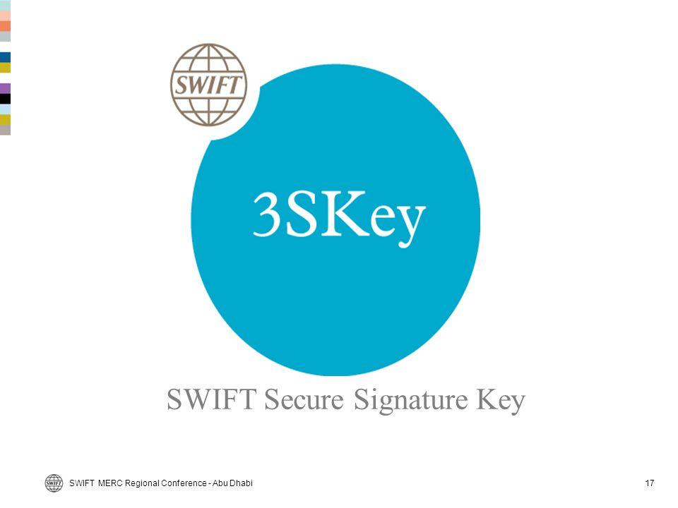 SWIFT Secure Signature Key