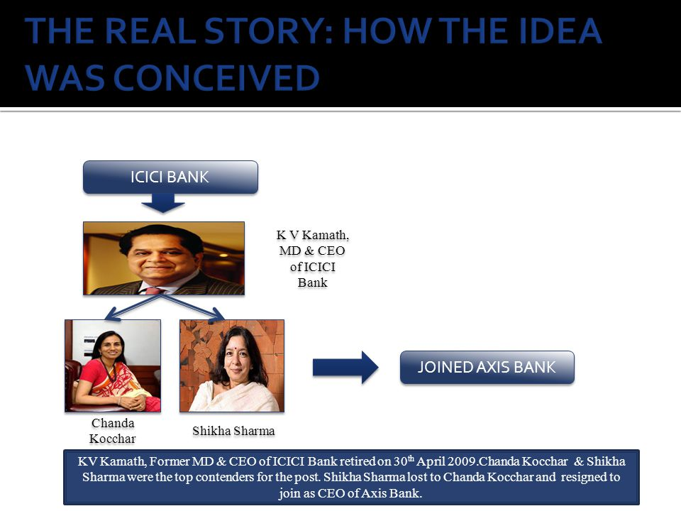 THE REAL STORY: HOW THE IDEA WAS CONCEIVED