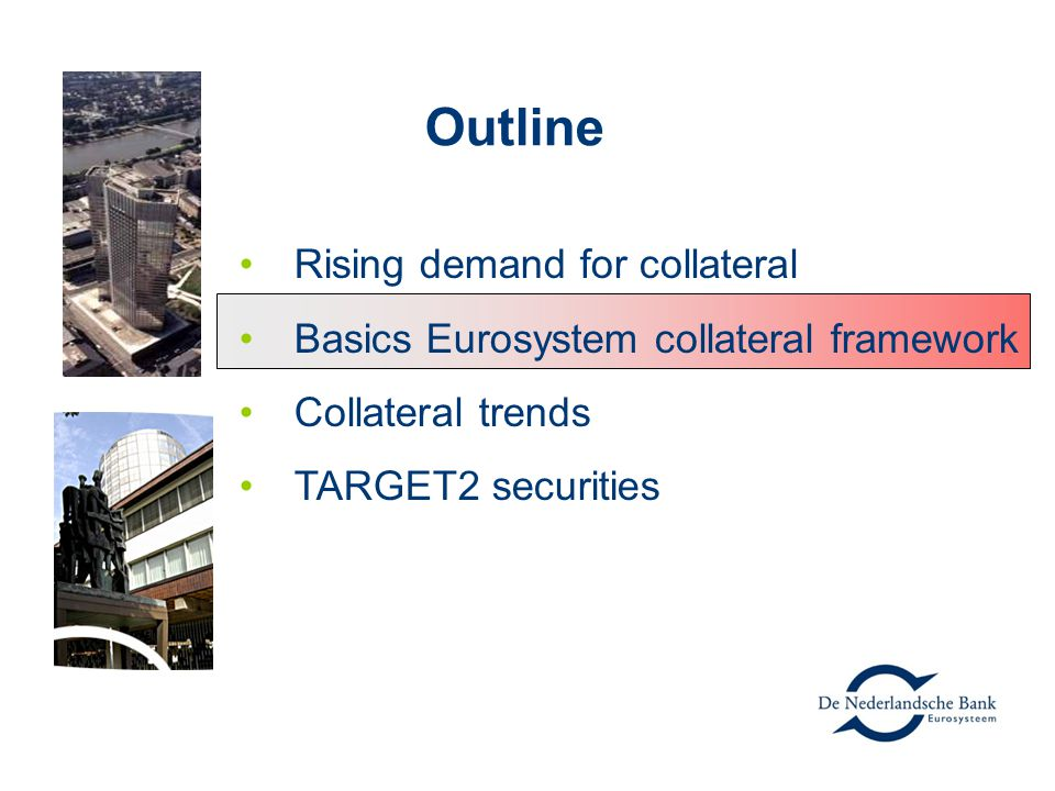 Outline Rising demand for collateral
