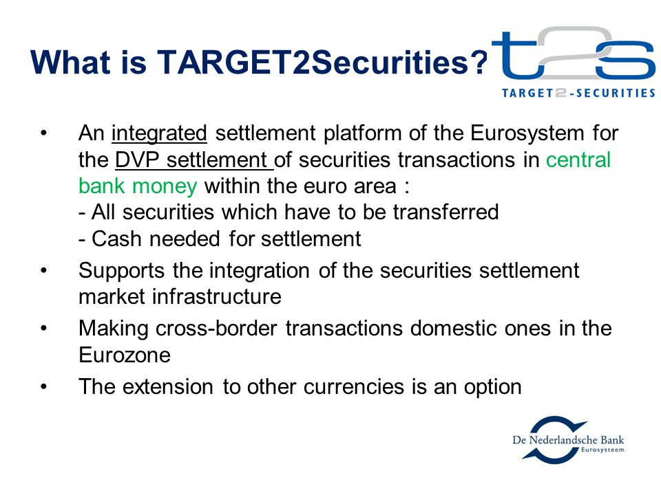 What is TARGET2Securities