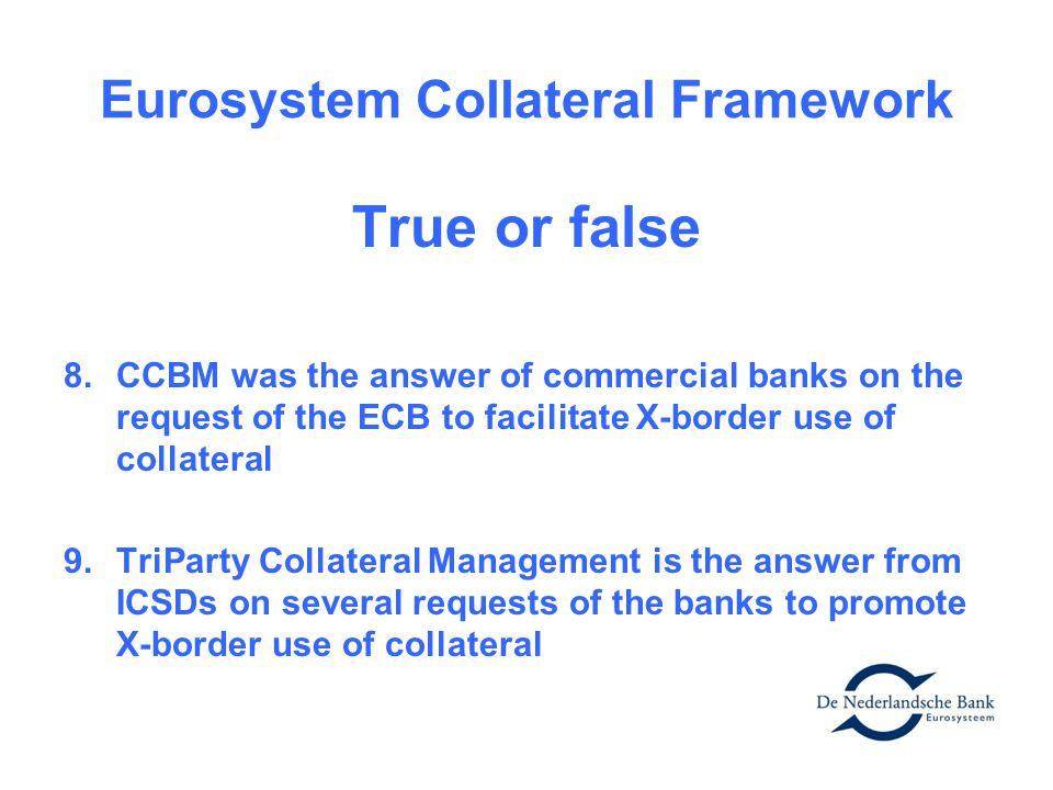 Eurosystem Collateral Framework