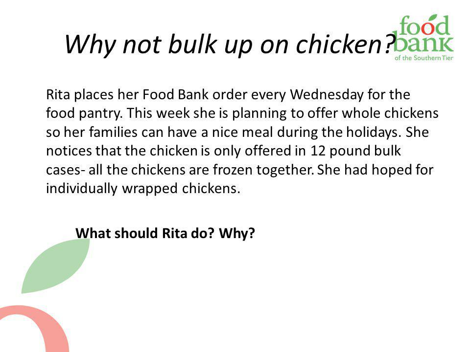 Why not bulk up on chicken