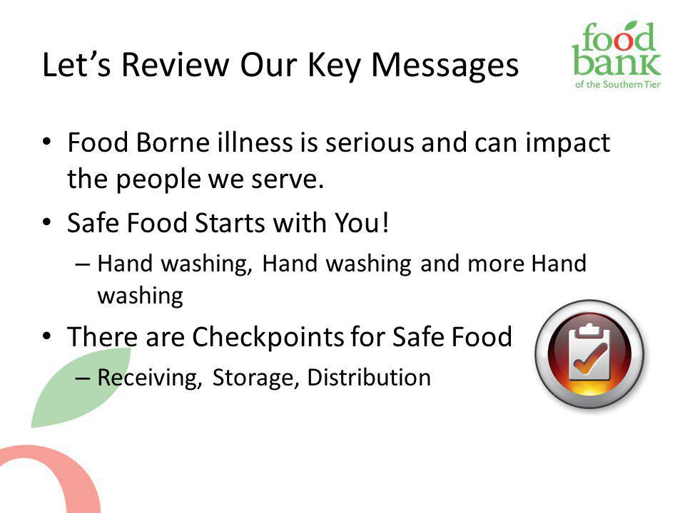 Let's Review Our Key Messages