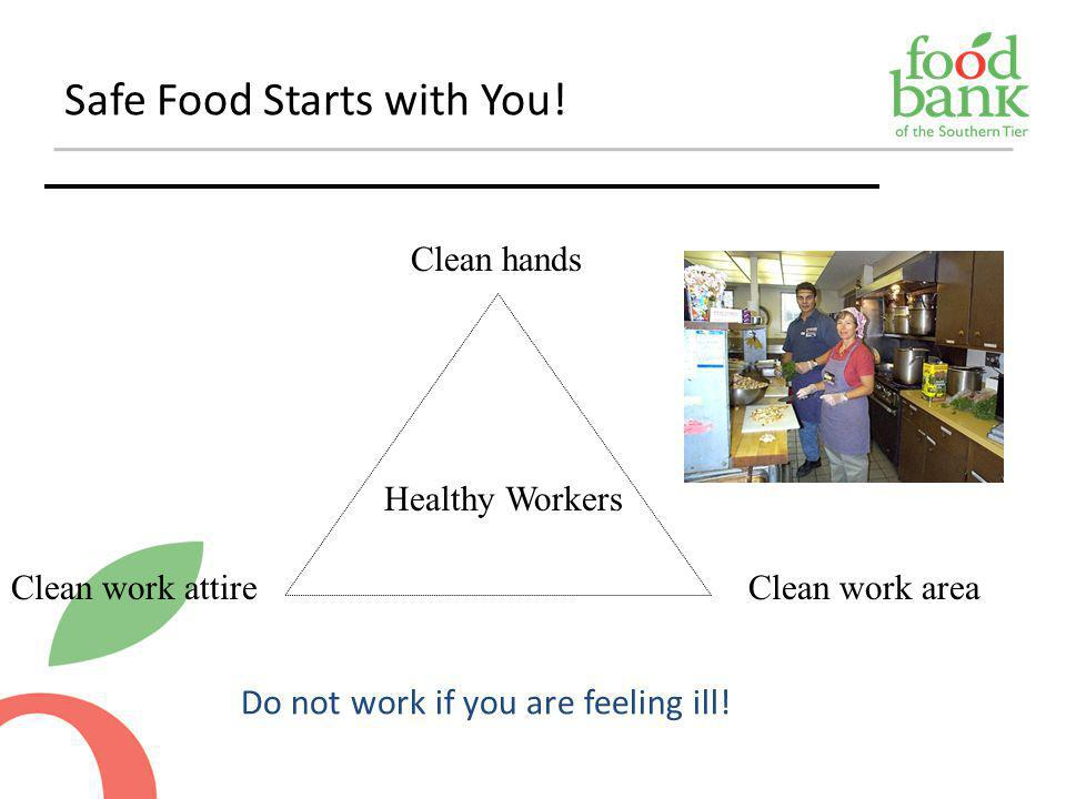 Safe Food Starts with You!