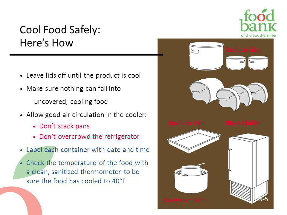 Cool Food Safely: Here's How