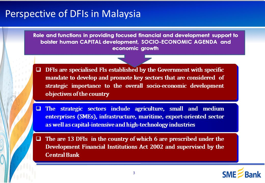 Perspective of DFIs in Malaysia